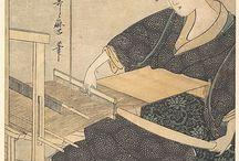 Japanese weaving