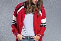 Blouson tricot