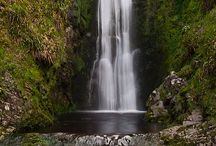The Glenevin Waterfall & National Loop Trails / The beautiful 40ft Glenevin Waterfall situated just out side Clonmany village.  Walk the National Loop Trails that take in the  some of the most stunning scenery in Inishowen