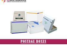 Postage Boxes / Postage boxes are used for mailing and shipping supplies purposes. For best packaging and printing of postage boxes contact at Go Custom Boxes