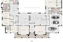 U shaped homes