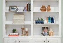 bookshelves / by Sara Brandl