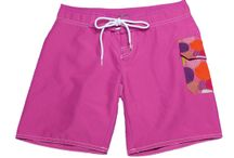 Girls' Board Shorts / These stylish shorts have a UPF 50+ fabric to help protect legs from the sun and scrapes that naturally come with summer activities.
