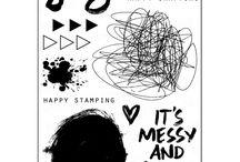 Happy Art Stamp Set