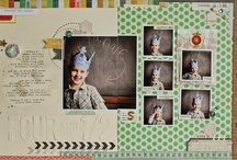 Birthday Scrapbook Page / by Debby Anderson