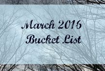 Monthly Bucket List Posts - Carried by Hope