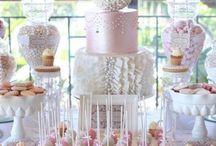 gateaux mariage / table de desserts, gateau pour le mariage
