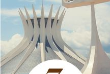 Brasília / Dicas de viagem para Brasília  Travel Pins to Brasília