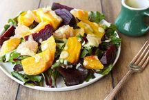 Food-Salads / by Cristina Hartman
