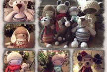 By AnoBru - Mijn gehaakte knuffels / Made by AnoBru