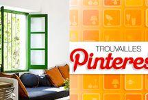 Trouvailles Pinterest: Fenêtres colorées