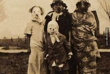 Creepy Costumes / Why can't we dress up for Halloween every day?