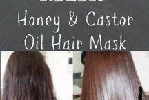 caster oil 30 min hair mask