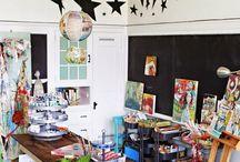 Inspirational art studios