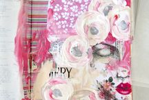 Let's Get Creative Together - Craft Board / Let's create beautiful things together. This board is filled with things that inspire and delight.