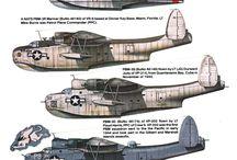 Samoloty plansze / by Ryszard Burza