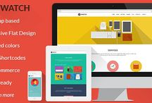 Bold Wordpress Themes / Responsive, colorful, and elegant Wordpress Themes. / by Meagan French