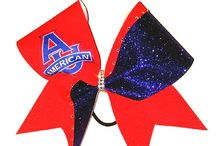 College Cheer Bows / by Just Cheer Bows