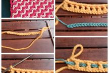CROCHET STITCHES PUNTI