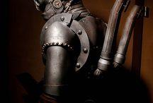 Steampunk monksters