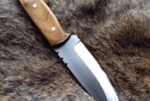 Custom bushcraft knife