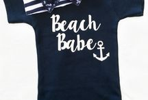 Baby clothing - Nautical themed