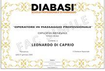 Diplomi per diventare massaggiatore DIABASI / Diventa massaggiatore professionista con DIABASI. Puoi scegliere tra diversi Diplomi a seconda delle tue esigenze!