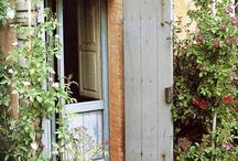vidéki porta