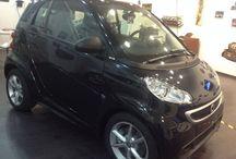 Smart Pulse 1.0 MHD €10.900 / Benzina-Climatizzatore-Cambio automatico -Chiusura centralizzata -1000 cm3-2 porte-4 airbag-Nera-2013 Tessuto grigio