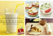Back to School / It's that time of year again! Here are some fun crafts and recipes to try!