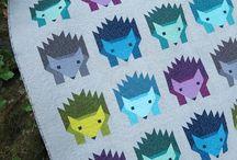 HazelQAL / Ideas to inspire me for the Hazel hedgehog quilt-a-long.  / by Tina Simms Susak