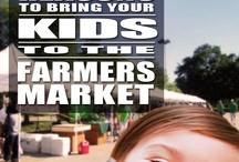 Children at the Farmer's Market