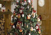 Christmas tree and deco