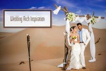 ~ Wedding Ceremony Arch & Canopy Inspiration ~ / Wedding Ceremony Arch/Canopy Inspiration