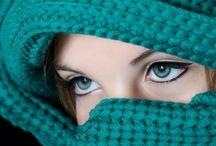 حجاب أخضر