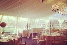 Wedding Decoration Inspiration / Inspirational Decor from weddings held at Oldwalls Gower
