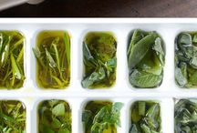 Recipes / Olive Oil & Herb Cubes