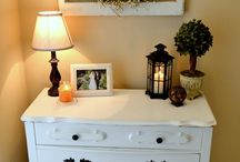 White furniture decor