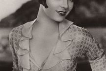 Louise Brooks / Ive been a little in love with Louise Brooks for a while now. Her and the clothing style. Doesn't hurt that she is reminiscent of my Lover.