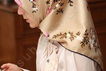 Popüler Tivil Eşarp Modelleri ve Renkleri / en popüler tivil eşarp modelleri, çiçekli eşarp