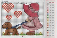 Cross Stitch People / People / by Velle Mere Lyons