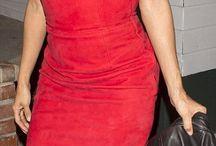 *vestido  rojos rosas y fucsias