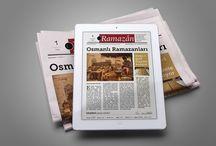 """Ramazan Gazetesi / Ramazân-ı şerîf boyunca günlük olarak web sayfamızın """"Ramazan Özel"""" bölümünde yayınlanan dijital gazeteler."""