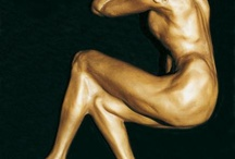 Assorted Sculptures by Richard Stravitz / Romantic, animal, abstract and more bronze sculptures created by Richard Stravitz.