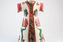 Çini Kaftan / El İşi İznik Çini Kaftan modelleri, Çini Kaftan Desenleri, Çini Sanatı