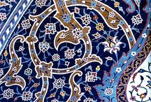 Islamic arabesque / Examples of traditional and modern arabesque - complete, in progress and instructions for construction. Includes a few European arabesque items