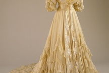 Historical Wedding Dresses / These are mainly 1800's dresses