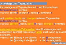 Deutsch Lernen / Übungen und nützliche Informationen zum Deutsch Lernen