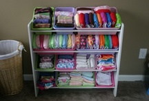Cloth Diaper Organization / Here are some great pins about organizing your cloth diaper stash.