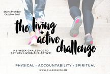 """The 6th Annual """"Living + Active"""" Challenge"""